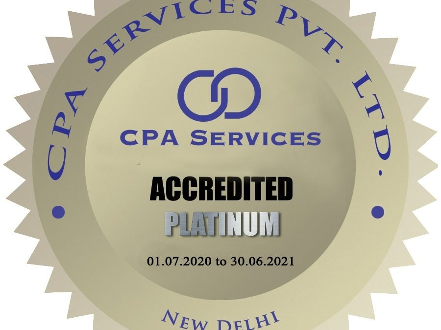Accredited under Platinum Category